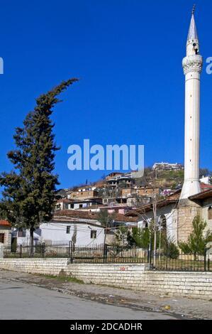 Vieille ville, Berat, sud de l'Albanie