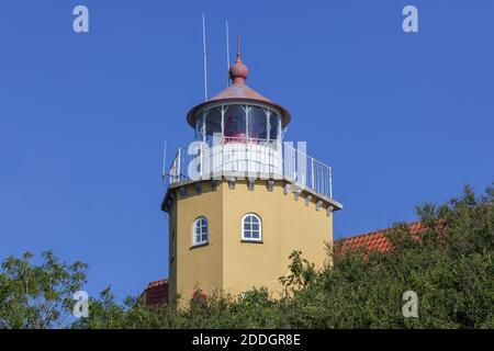 Géographie / Voyage, Danemark, Zélande, isle mon, phare sur l'isle mon, Zélande, Danemark, Nordeurp, droits-supplémentaires-autorisations-Info-non-disponible
