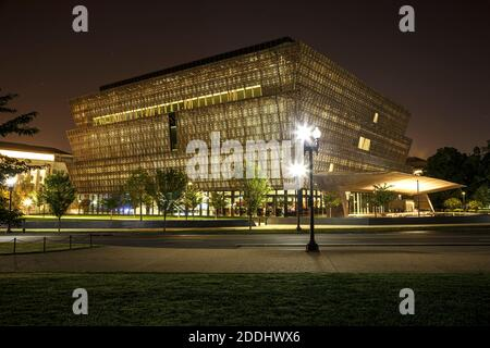 Smithsonian National Museum of African American History and Culture, Washington, District de Columbia USA