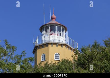 Géographie / Voyage, Danemark, Zélande, isle mon, phare sur l'isle mon, Zélande, droits-supplémentaires-dégagement-Info-non-disponible