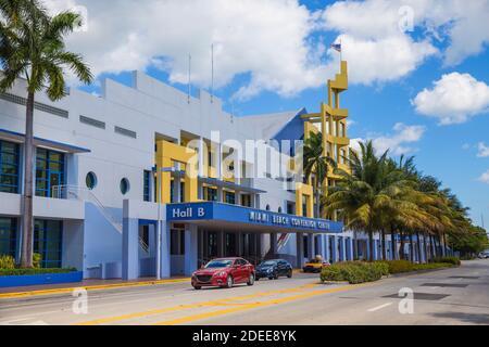 Etats-unis, Miami, Miami Beach, South Beach, Miami Convention Center
