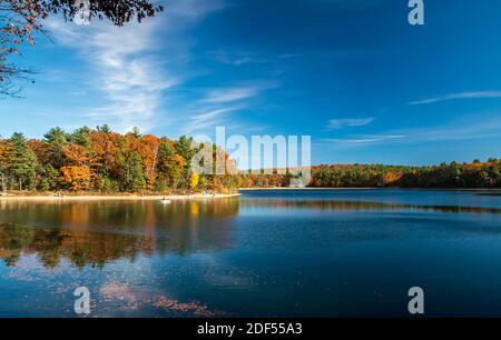Walden Pond, Lexington, Massachusetts, États-Unis