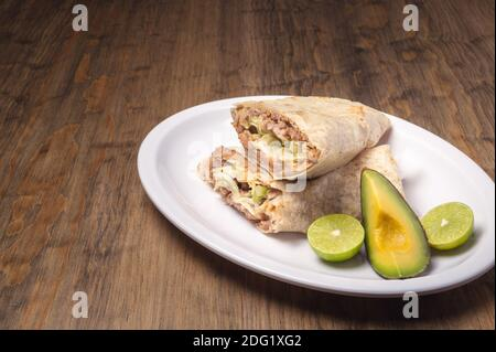 Cuisine gastronomique mexicaine traditionnelle. Cuisine mexicaine sur table.