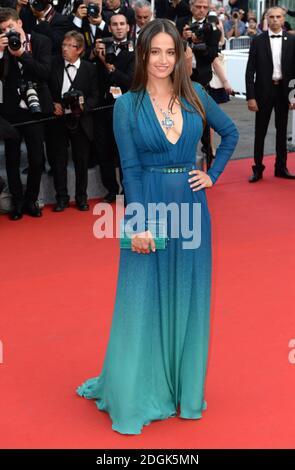 Marie Gillain participe à la première du film d'ouverture de la Tete haute qui a lieu lors du 68e Festival de Cannes, au Grand Théâtre lumière, Palais des Festivals, Cannes, France