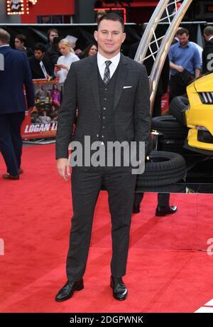 Channing Tatum assistant à la première Logan Lucky UK qui s'est tenue au vue West End à Leicester Square, Londres. Le crédit photo devrait lire Doug Peters EMPICS Entertainment Banque D'Images