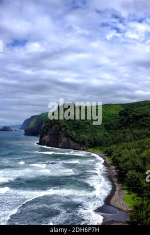 Pololu Valley, Big Island, Hawaï