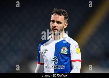 Adam Armstrong #7 de Blackburn Rovers en action pendant le jeu Banque D'Images