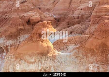 La piste Toadtabourets sur les Rimrocks de Paria dans le sud de l'Utah.
