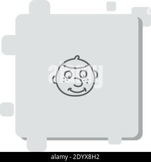 icône de vecteur juif illustration de vecteur simple moderne