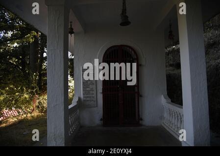 Temple Hindou Lord Shiva Mukteshwar situé dans le district de Nainital, État d'Uttarakhand. Célèbre pour Himalaya View et Lord Shiva's.