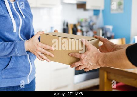 Livraison de colis à domicile