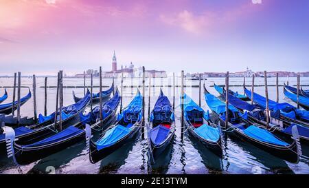 tôt le matin à venise, italie