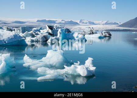 Jökulsarlon en Islande