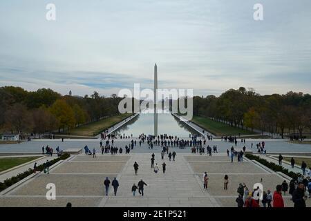 Le National Mall Memorial à Washington DC