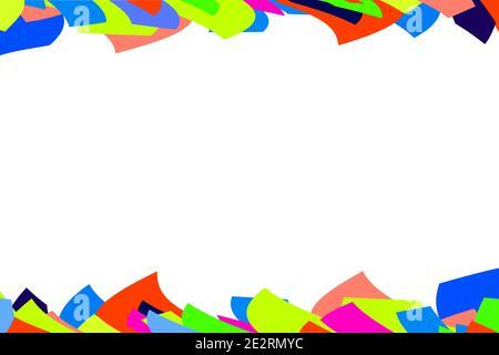 Arrière-plan abstrait coloré avec espace pour le texte
