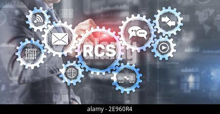 RCS. Services de communication riches. Protocole de communication entre le téléphone mobile