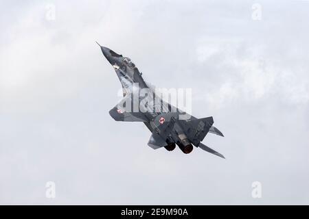 Mikoyan Mig29 de l'armée de l'air polonaise