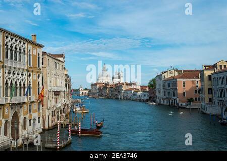 Basilique Santa Maria della Salute, ville de Venise, Italie, Europe