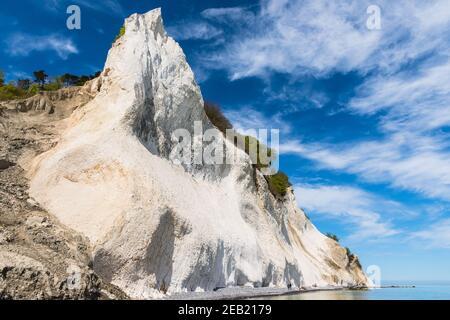 Moens klint craie falaises au Danemark