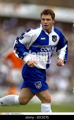 Football - 24/4/00 stock Season 99/00 Jamie Cureton - Bristol Crédit obligatoire de Rovers : champ Images d'action/David