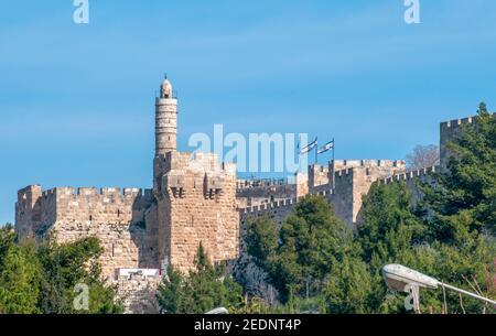 Tour de David, vieille ville, Jérusalem, Israël