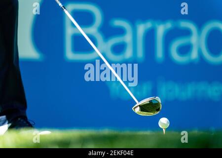 31 juillet 2020 ; Truckee, CA, États-Unis ; Un joueur est en train de jouer pendant la deuxième partie du tournoi de golf Barracuda Championship à Old Greenwoood. Crédit obligatoire: Andrew Wevers-USA TODAY Sports/Sipa USA