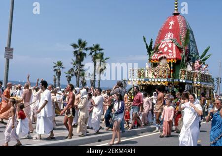 Hare Krishna Festival of Chariots à Venice Beach, CA