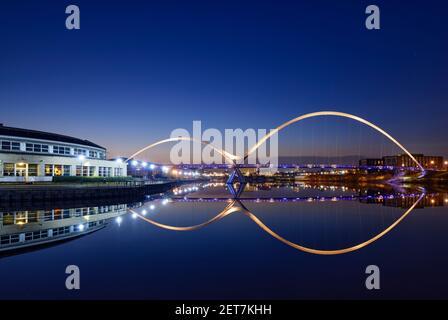Pont de l'infini, Stockton on Tees UK