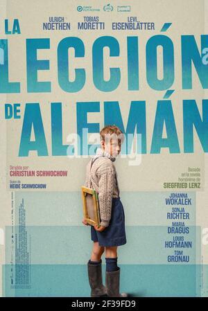LA LEÇON ALLEMANDE (2019) -titre original: DEUTSCHSTUEDN-, réalisé par CHRISTIAN SCHWOCHOW. Crédit : FILM DU SÉNATEUR PRODUCTION / Album