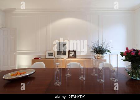 Salle à manger avec lambris géorgiens | architecte : PROJETS CARTOGRAPHIQUES |