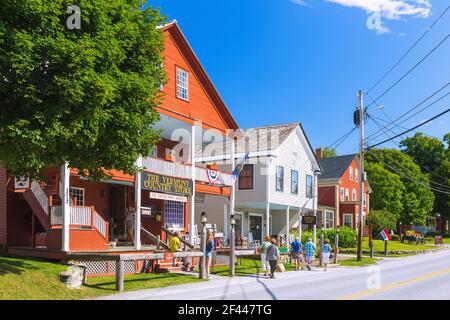 Géographie / voyage, États-Unis, Vermont, Weston, Vermont, Rideau Vermont Country Net, droits supplémentaires-autorisation-Info-non-disponible