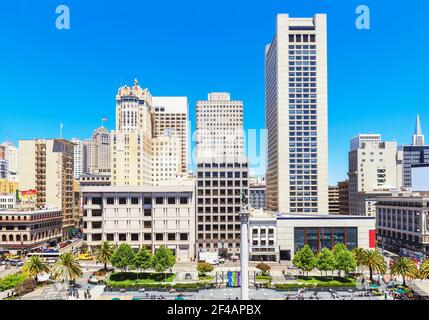 Union Square, San Francisco, California, USA