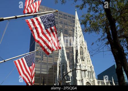 Géographie / voyage, Etats-Unis, New York, New York, Cathédrale St Patrick, Midtown Manhattan, New York C, droits supplémentaires-autorisations-Info-non-disponible