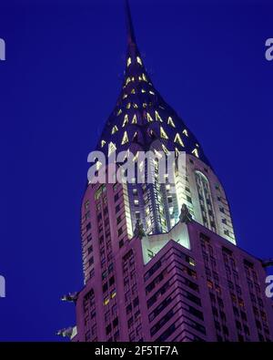 2004 BÂTIMENT HISTORIQUE CHRYSLER (©WLLIAM VAN ALEN 1930) MIDTOWN MANHATTAN NEW YORK CITY ÉTATS-UNIS