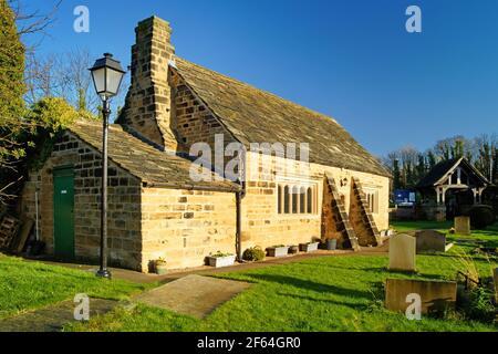 Royaume-Uni, Yorkshire de l'Ouest, Wakefield, Felkirk, Église Saint-Pierre, Ancienne salle d'école
