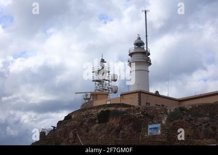 La péninsule de Cabo de Gata - la région la plus sèche d'Europe.