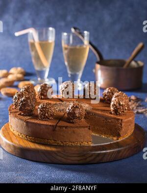 Tarte aux truffes au chocolat