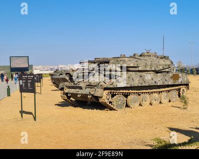 ZSU-23-4 Shilka légèrement blindé soviétique autopropulsée, radar guidé système d'armes antiaériennes - Bakou, Azerbaïdjan, 04-16-2021