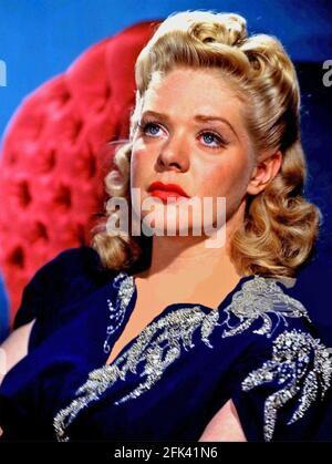 ALICE FAYE (1915-1998) actrice et chanteuse américaine vers 1943