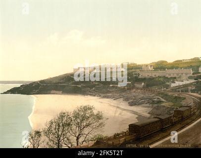 Porthminster Bay St Ives à Cornwall vers 1890-1900