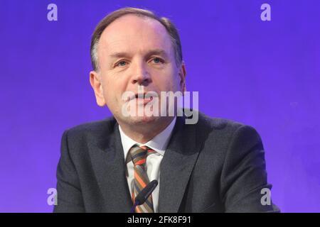 Londres, Royaume-Uni. 29 avril 2021. PHOTO DU DOSSIER Sir Simon Stevens doit descendre à la tête du NHS en Angleterre et devenir un pair, a annoncé aujourd'hui le gouvernement. Crédit : Headlinephoto/Alamy Live News.