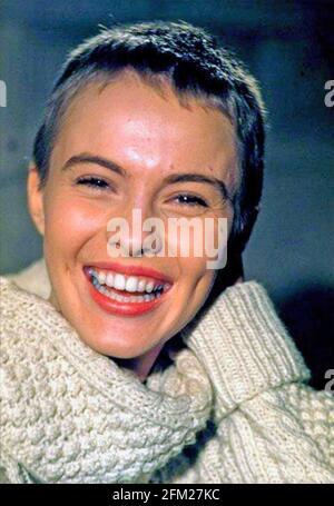 JEAN SEBERG (1938-1979) actrice américaine en 1957