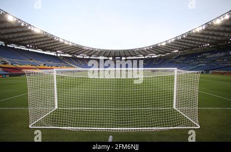 Rome, Italie, 6 mai 2021. Vue générale du stade avant le match de l'UEFA Europa League au Stadio Olimpico, Rome. Le crédit photo devrait se lire: Jonathan Moscrop / Sportimage