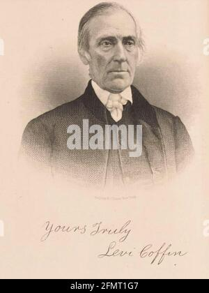 LEVI CERCUEIL (1798-1877) Quaker américaine et abolitionniste