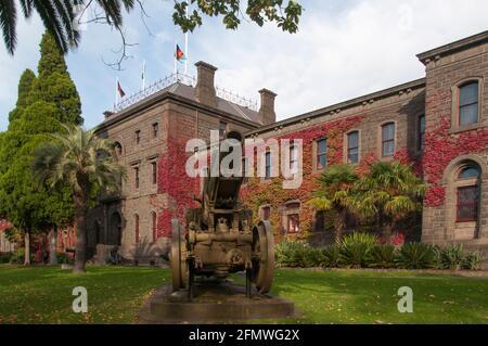 Barracks Victoria de style Renaissance du XIXe siècle sur St Kilda Road, Melbourne, Australie