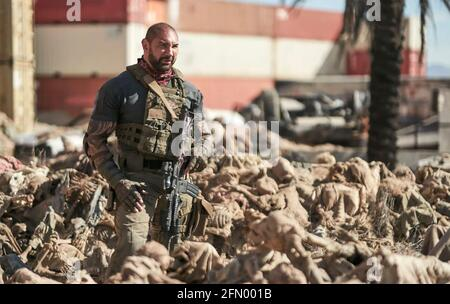 ARMY OF THE DEAD 2021 Netflix avec Dave Bautista