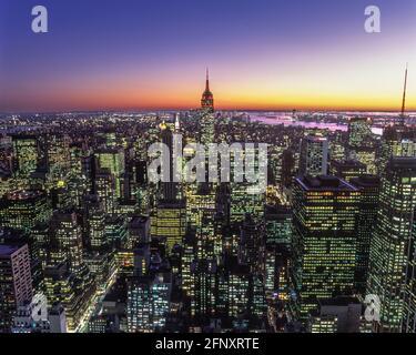2005 BÂTIMENT HISTORIQUE DE L'EMPIRE STATE (©SHREVE LAMB & HARMON 1931) MIDTOWN MANHATTAN NEW YORK CITY ÉTATS-UNIS