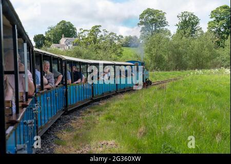 Heatherslaw Light Railway, Northumberland, Royaume-Uni