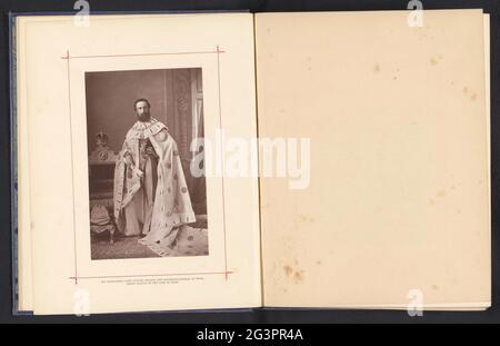 Portret van Robert Bulwer-Lytton; son Excellence Lord Lytton, Viceroy et Gouverneur général de l'Inde, Grand Maître de l'étoile de l'Inde. .