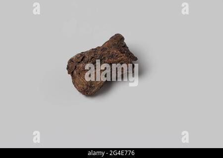 Cork de l'épave de l'est Indiesman 't volant coeur. Le liège brun provient d'une bouteille de vin (voir dimensions). Liège.